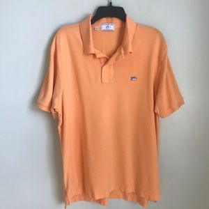 Southern Tide Shipjack Polo Orange